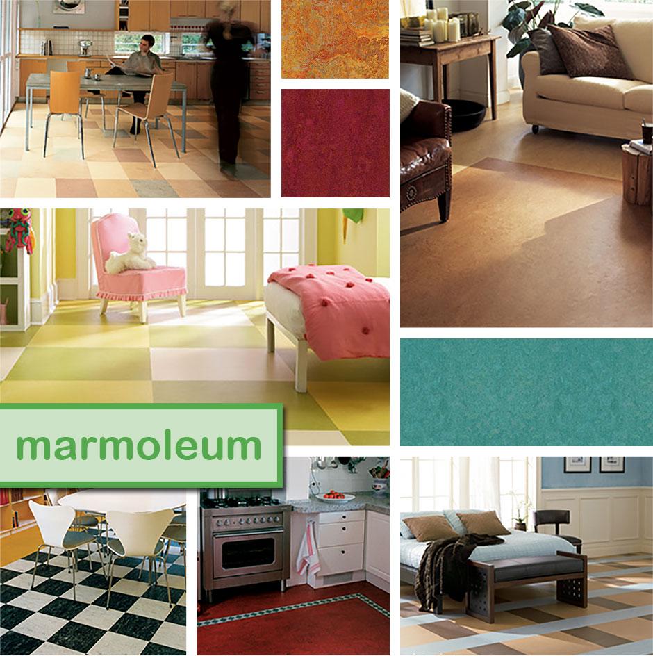 Forbo Marmoleum Room Scenes