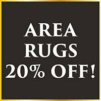 Area rugs on sale 20% off during our Holiday Flooring Sale at Arcata ProFloor Abbey Design Center