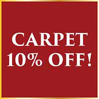 Carpets are 10% off during our Holiday Flooring Sale at Arcata ProFloor Abbey Design Center