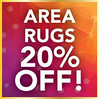 Gold Tag Sale 20% off area rugs at Arcata ProFloor Abbey Design Center